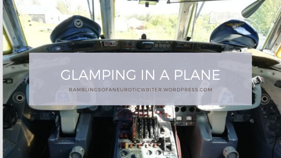 Glamping in a Plane